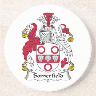 Escudo de la familia de Somerfield Posavasos Cerveza