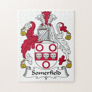 Escudo de la familia de Somerfield Rompecabezas Con Fotos