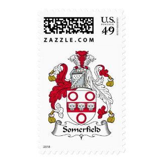 Escudo de la familia de Somerfield Sello