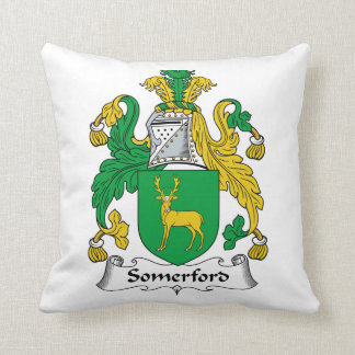 Escudo de la familia de Somerford Almohada