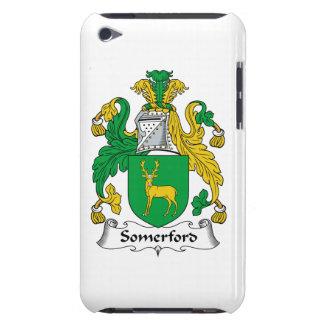 Escudo de la familia de Somerford iPod Touch Protectores