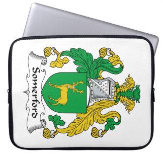 Escudo de la familia de Somerford Funda Ordendadores