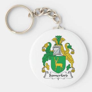 Escudo de la familia de Somerford Llaveros Personalizados