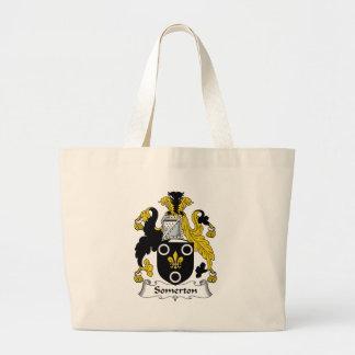 Escudo de la familia de Somerton Bolsas De Mano
