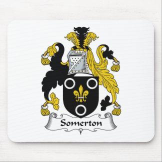 Escudo de la familia de Somerton Alfombrilla De Ratones