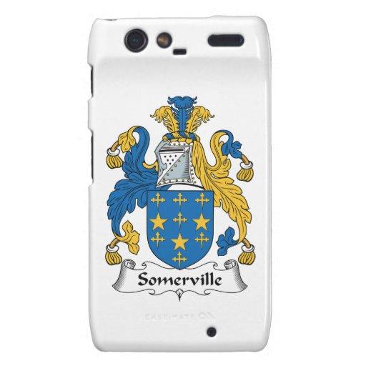 Escudo de la familia de Somerville Motorola Droid RAZR Fundas