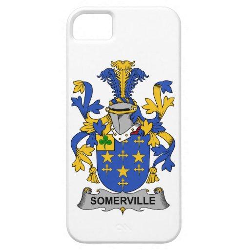Escudo de la familia de Somerville iPhone 5 Funda