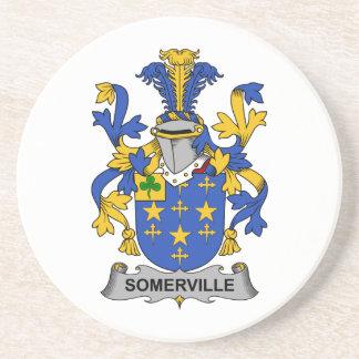 Escudo de la familia de Somerville Posavasos Para Bebidas