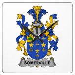Escudo de la familia de Somerville Relojes