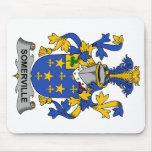 Escudo de la familia de Somerville Alfombrillas De Ratón
