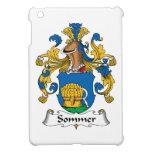 Escudo de la familia de Sommer iPad Mini Cárcasas