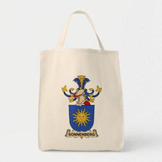 Escudo de la familia de Sonnenberg Bolsas Lienzo