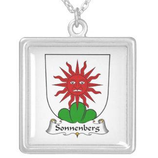 Escudo de la familia de Sonnenberg Colgante