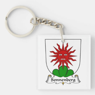 Escudo de la familia de Sonnenberg Llaveros
