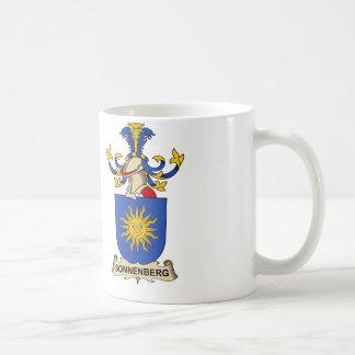Escudo de la familia de Sonnenberg Taza