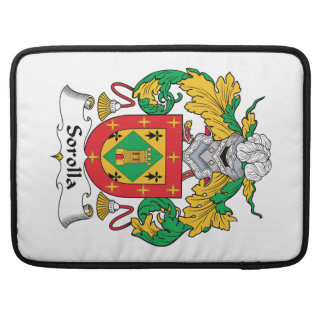 Escudo de la familia de Sorolla Funda Para Macbooks