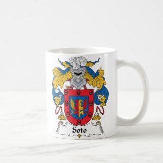 Escudo de la familia de Soto Taza De Café