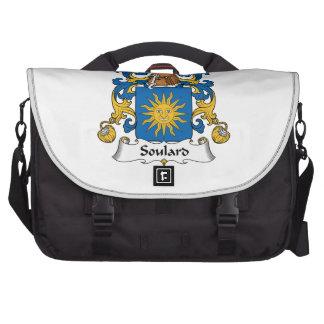 Escudo de la familia de Soulard Bolsa De Ordenador