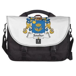 Escudo de la familia de Soulier Bolsa De Ordenador