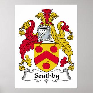 Escudo de la familia de Southby Impresiones