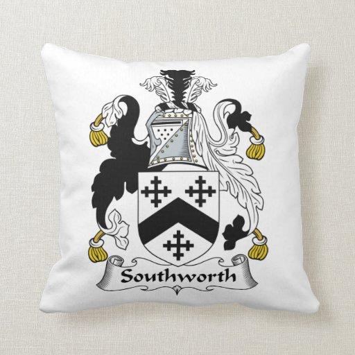 Escudo de la familia de Southworth Cojín
