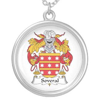 Escudo de la familia de Soveral Grímpola