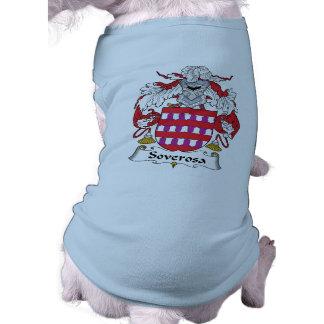 Escudo de la familia de Soverosa Camisas De Mascota