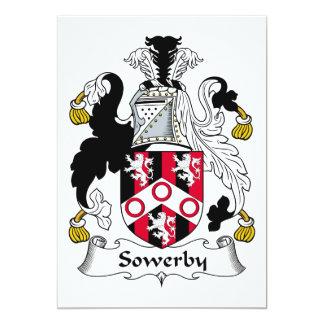 Escudo de la familia de Sowerby