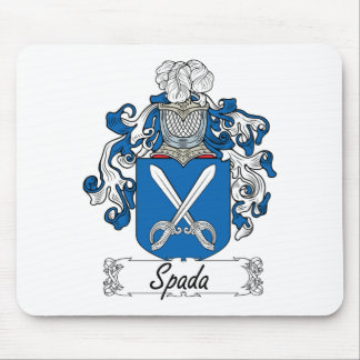 Escudo de la familia de Spada Tapetes De Ratón