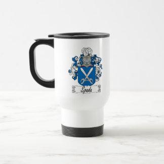 Escudo de la familia de Spada Tazas De Café