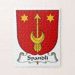 Escudo de la familia de Spandli Puzzles Con Fotos