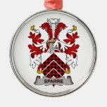 Escudo de la familia de Sparre Adorno De Navidad