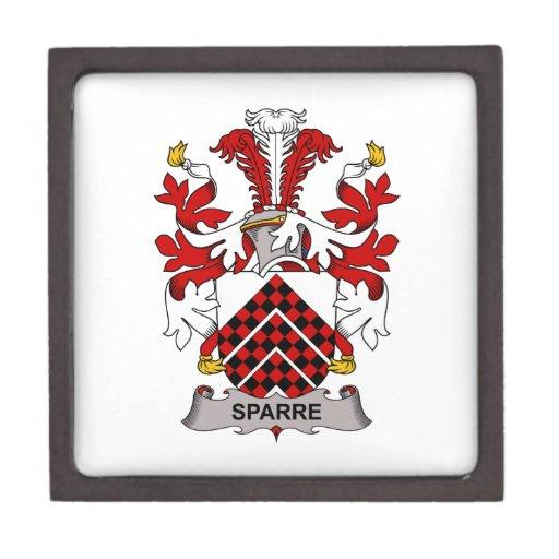 Escudo de la familia de Sparre Caja De Recuerdo De Calidad