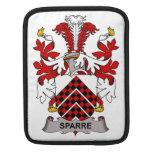 Escudo de la familia de Sparre Funda Para iPads