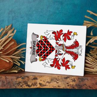 Escudo de la familia de Sparre Placa
