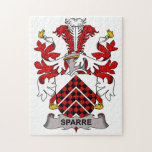 Escudo de la familia de Sparre Puzzle