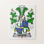Escudo de la familia de Sparre Rompecabeza