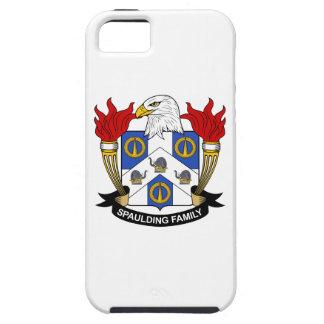 Escudo de la familia de Spaulding iPhone 5 Case-Mate Carcasa