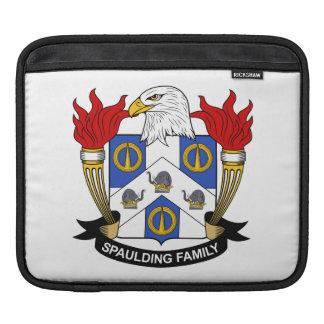 Escudo de la familia de Spaulding Funda Para iPads