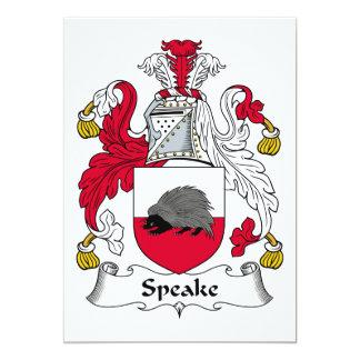 Escudo de la familia de Speake