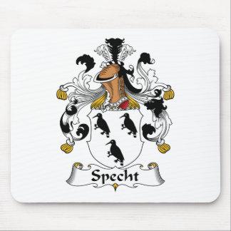Escudo de la familia de Specht Mouse Pad