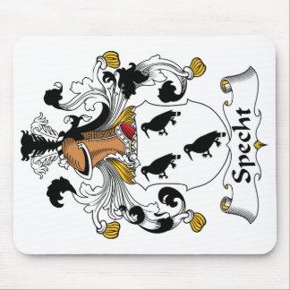 Escudo de la familia de Specht Tapetes De Raton