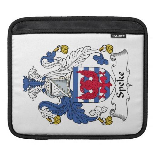 Escudo de la familia de Speke Funda Para iPads