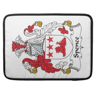 Escudo de la familia de Spence Fundas Para Macbook Pro