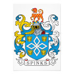 Escudo de la familia de Spinks Comunicado