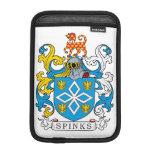 Escudo de la familia de Spinks Fundas Para iPad Mini