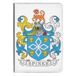 Escudo de la familia de Spinks Funda Para Kindle