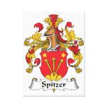 Escudo de la familia de Spitzer Lona Estirada Galerías