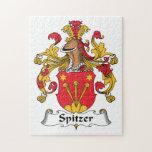 Escudo de la familia de Spitzer Puzzle Con Fotos