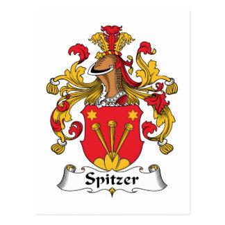 Escudo de la familia de Spitzer Tarjeta Postal